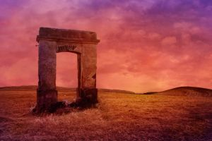 The Arch to Nowhere Background by joannastar-stock