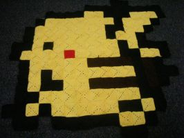 Pikachu rug Complete by kyut530