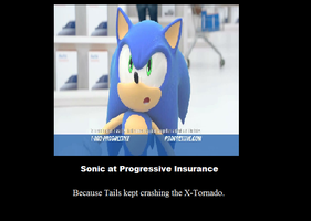 Sonic Motivational: Insurance by KyuremGirl