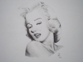 Marilyn Monroe by PatrickRyant