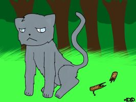 Jayfeather broke his stiiiiiiiicccckkkkk by DiamondSwordDS