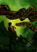 The Jungle Book : Kaa by Dorypiio