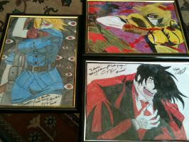Hellsing finally framed by DARKPRINCE86