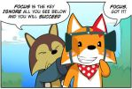 Rocket Fox 3 panel 1! by StacyKing