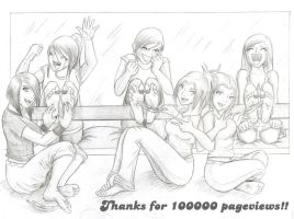 100000 pageviews by pirata3