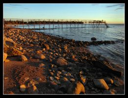 IMG 3614 Rocky Beach Sunrise by CitizenOlek