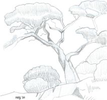 Tree Sketch by Arianrhod-Athdel
