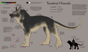 Tenebral Hounds by ReaWolf