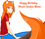 Happy Late B-Day Gift For Music-Junkie-Blaze by SpeedStar122TH