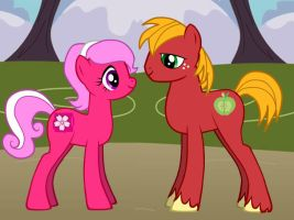 MLP: FIM: Cherry B x B Mac by GothicKitta