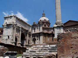 Foro Romano I by Harry-Paraskeva