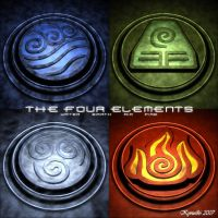 The Four Elements by asmith9O