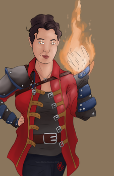 Bree Mage by Velox-Mortis