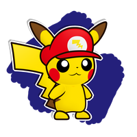 Pikario - Paper Mario Style by Coonstito