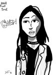 Movie version of Gwen from Grrl Scouts  by Number1Exile