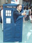 Doctor Who and Tardis Cosplayer by stormx6