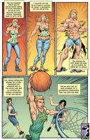 Athlete Plus by female-muscle-comics
