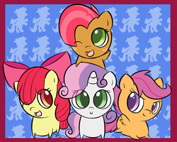 Chibi: Cutie Mark Crusaders by PokuMii