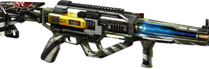 AE4 assault energy rifle by Joetheteamrocketguy