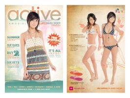 Active Girls Summer Catalog by Steelo23