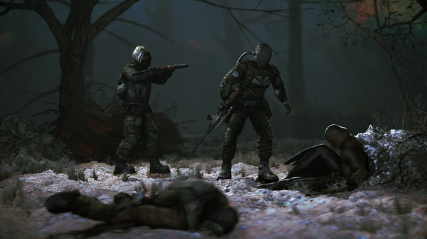 [SFM][STALKER]Typical situation in CoC by half5life