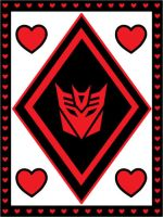 Red and Black Decepticon Valentine by srg1