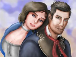A Great Partnership - Bioshock Infinite by toughraid3r37890
