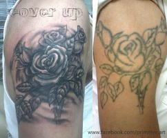 rose cover up by primitive-art