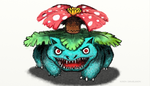 Venusaur by rubbe