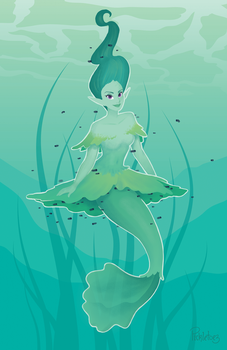 Tadpole Merm by pickletoez