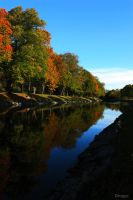 Autumn Reflections by Drugge