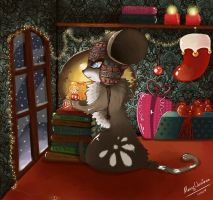 Merry Christmas  to all Mice by Sweetylol