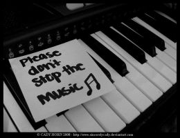 Please Don't Stop The Music by SincerelyCady
