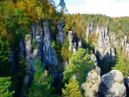 Saxon Switzerland by Dieffi