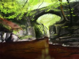 Speedpaint bridge by Karollos