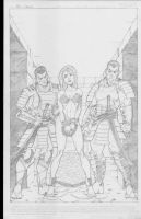 Finished red Sonja Pg1 by Mulv