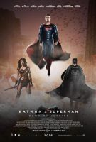 Batman v Superman: Dawn of Justice Poster by TouchboyJ-Hero
