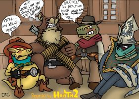 REQUEST - Western Bellyaches by Dan-the-Countdowner