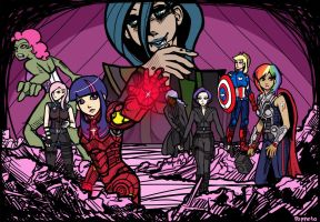 Avengers of Equestria by Poppeto