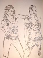 Aly and AJ by SwampedTruth