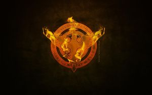 THE MITHRA ON FIRE  WALLPAPER by lovelives4ever
