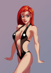 Raine's New Bathing Suit by morganagod