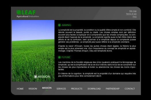 LEAF Agricultural Industries by H-Blue