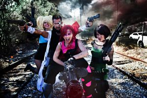 Professor Utonium and the Powerpuff Girls by DuysPhotoShoots