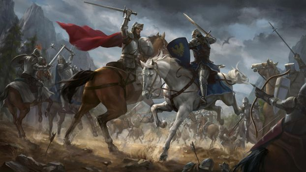 Knights by geying