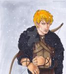 Victor in leather and fur by Marker-Guru