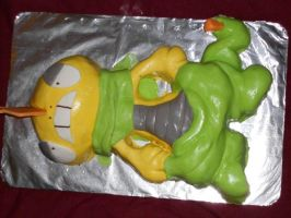 Shiny Scrafty Cake