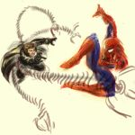 Spidey vs Doc Ock by MarcWasHere