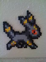 Umbreon Perler by SpringDasie