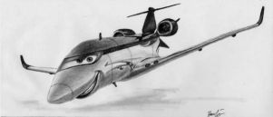 Siddeley the Spy Jet by yamihoole